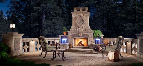 Backyard Covered Patio by Fireplaces Fireplace Accessories Arizona Fireplaces