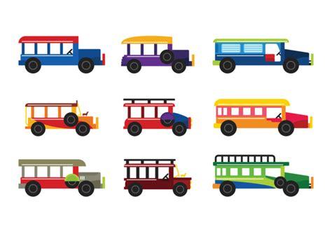 philippines jeepney vector jeepney vector download free vector art stock graphics