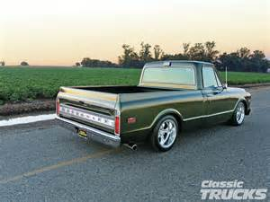 1972 Chevrolet C10 1972 Chevrolet C10 Classic Trucks Magazine