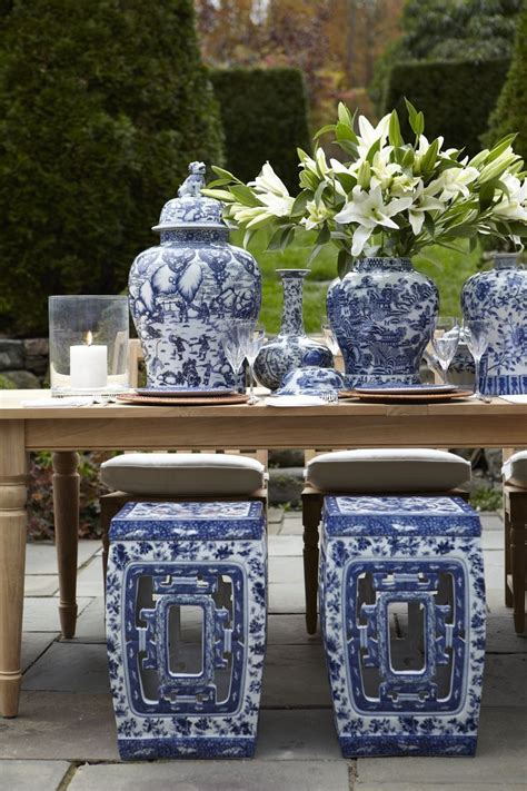Decorating With Blue And White by Decorating With Blue And White A Perennial