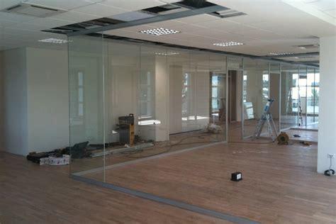 uffici in vetro pareti divisorie in vetro per ufficio ma co s a s di