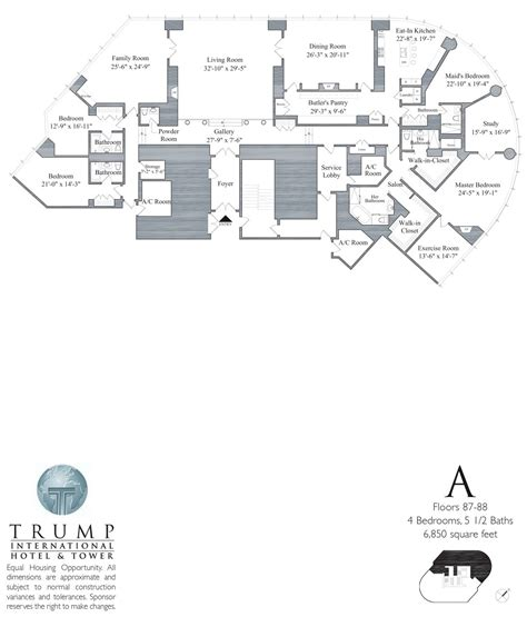 trump tower floor plans trump tower chicago 401 n wabash floor plans views