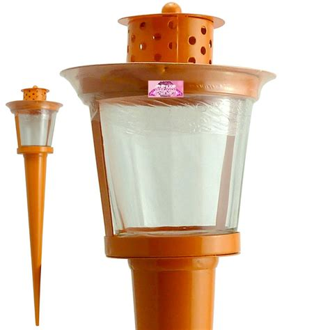 Outdoor Tea Light Holders Metal Tea Light Holder Garden Outdoor Dining Candle Stake Light Lantern Ebay