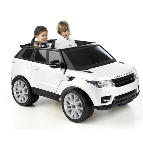 land rover jeep cars licensed range rover sport 2 seater 12v electric ride on