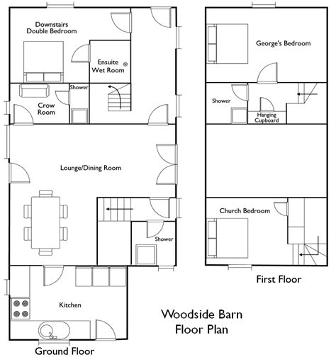 barn floor plans with living quarters creating the barn with living quarters floor plans
