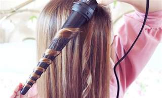 wand for thick to curl hair why use a curling wand to curl hair and not a straightener