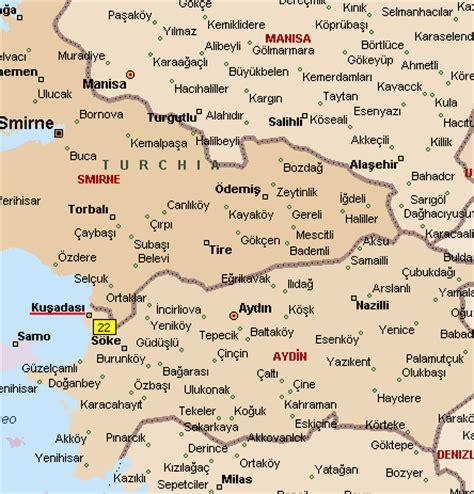 kusadasi map maps of kusadasi