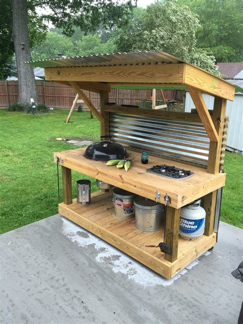 Backyard Grill Station Diy Backyard Grill 2017 2018 Best Cars Reviews