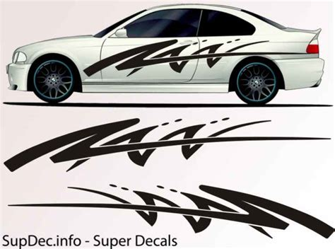 Auto Body Decals by Vinyl Auto Body Graphics Exterior Outside Decal Sticker B731