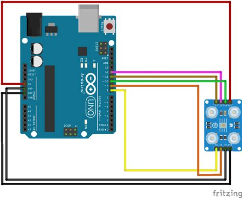 color detector color sensor how to use it module143