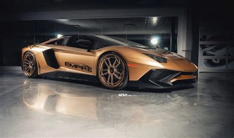 lamborghini aventador sv roadster price 2018 lamborghini aventador sv roadster in gold is captivating drivers magazine
