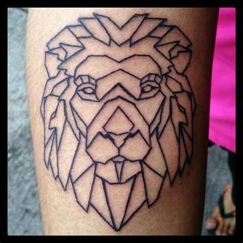 tattoo geometric lion 17 best images about geometric creatures on pinterest