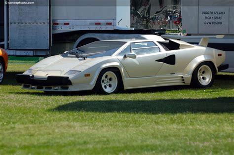 Lamborghini Quattrovalvole by 1988 Lamborghini Countach 5000 Quattrovalvole Image