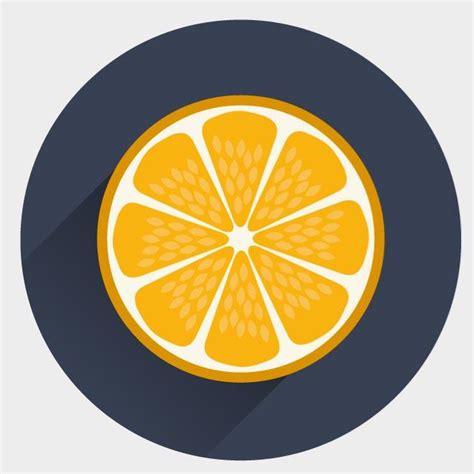 vector orange tutorial orange vektor icon download bei vectorportal