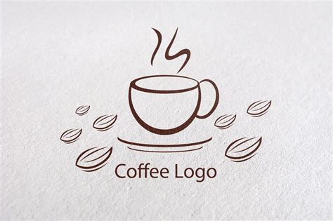 coffee shop logo design online adobe illustrator cc how to create a coffee logo design