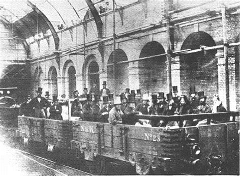 el ferrocarril subterraneo the metropolitan railway london 1862