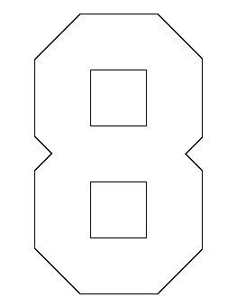 number pattern drawing 11 best outlines images on pinterest number patterns