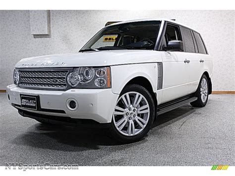 navy range rover sport 2009 land rover range rover supercharged in alaska white