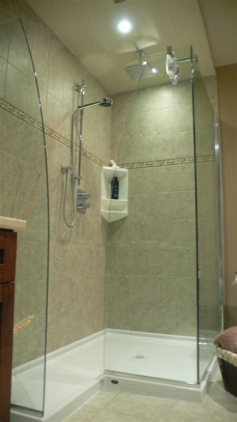 Shower Stall Without Door Stall Walk In Shower Without Door By Schweitzer S Showers Pinterest Showers Doors And Stalls