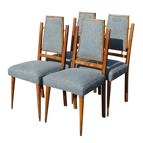 Century Furniture Dining Chairs 4 Mid Century Modern Italian Dining Chairs Ebay