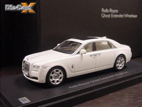 1 43 Kyosho Rolls Royce Ghost Extended Wheelbase Die Cast Model ghost kyosho announces 1 43 rolls royce ghost