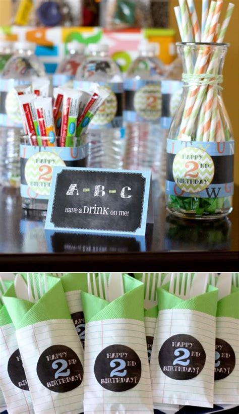 party themes like abc back to school teacher appreciation kara s party ideas