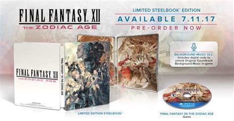 dissidia nt prima collector s edition guide books xii the zodiac age 233 dition limit 233 e steelbook