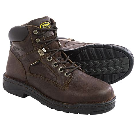 for boots wolverine exert durashocks work boots for 119yt