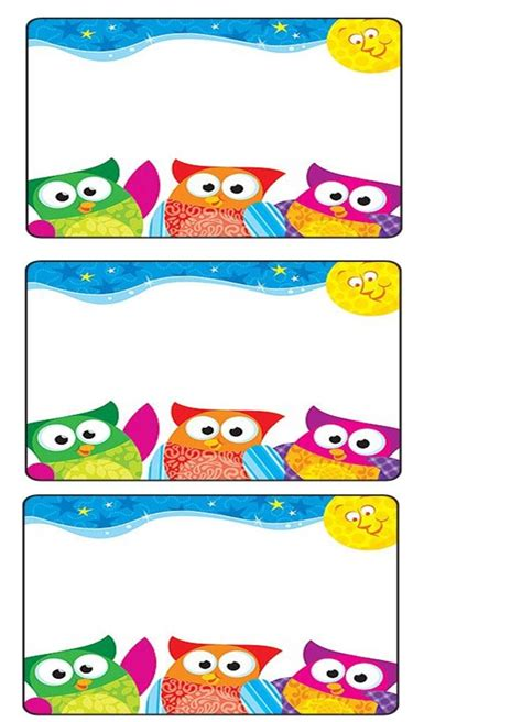 printable owl name tags owl name tag crafts and worksheets for preschool toddler