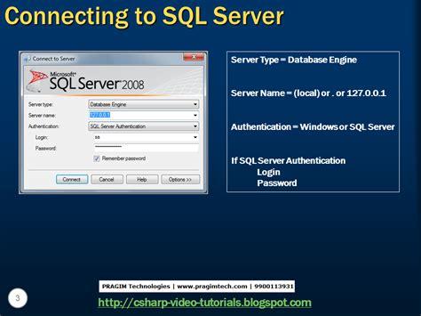 mvc video tutorial venkat sql server net and c video tutorial part 1