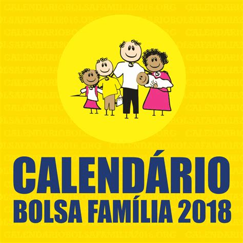 calend 225 bolsa fam 237 lia 2018 datas de pagamento aqui