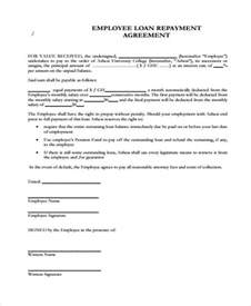 student loan agreement template loan agreement form template