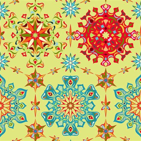 ornament pattern freepik coloured ornaments pattern vector free download