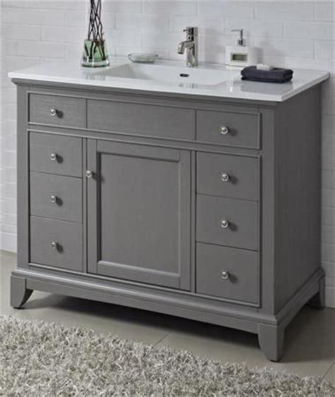 bathroom vanities 42 inches wide fairmont designs 1504 v42 smithfield medium gray bathroom