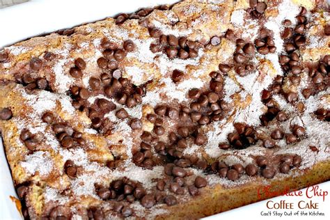 banana chocolate chip coffee cake chocolate chip coffee cake can t stay out of the kitchen