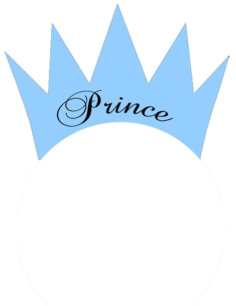 prince crown template prince crown clip 63