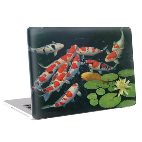 Macbook Pro 13 Skin Aufkleber by Koi Karpfen Macbook Skin Aufkleber