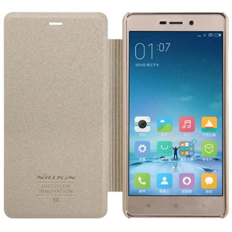Cover Xiaomi Redmi 4a Leather Texture Softcase Kulit Back Casing jual nillkin sparkle flip cover xiaomi redmi 3 pro