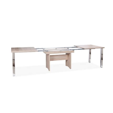 sonoma oak dining table primo wooden extendable dining table in sonoma oak 30182