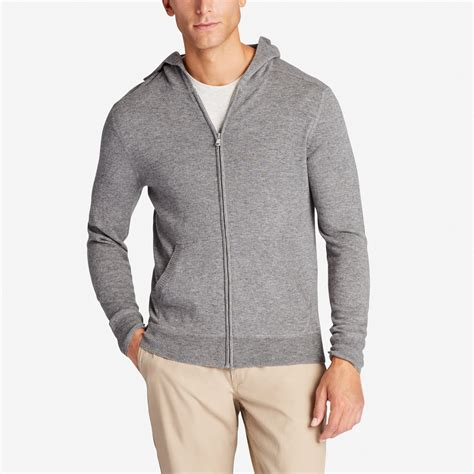 Hoodie Sweater Safety Pin Front Logo s cotton blend sweater hoodie bonobos