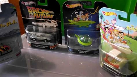 Hotwheels 1 64 Retro Back To The Future Time Machine Hover Mode 1 wheels retro entrateniment collection 1 64 back to