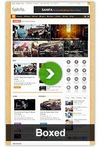 Sahifa Responsive News Magazine Theme sahifa responsive news magazine theme