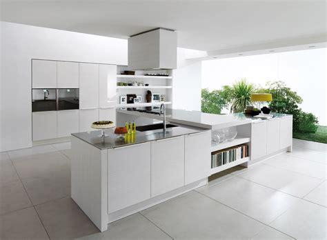 imagenes cocinas integrales blancas cocinas blancas bricodecoracion com