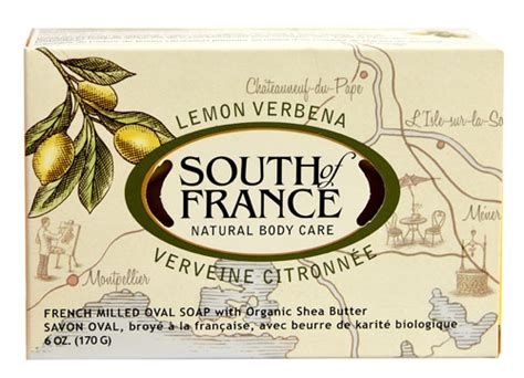 Toner Ovale Lemon south of milled soap bar lemon verbena 6 oz