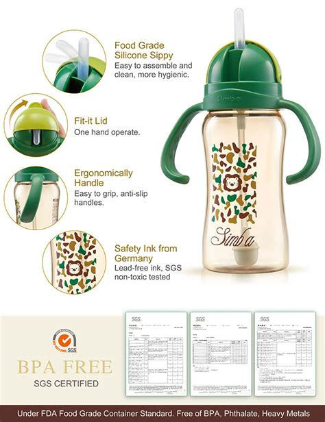 Simba Green Ppsu Cup 240ml simba ppsu sippy cup camouflage 8oz 240ml 11street malaysia bottles accessories