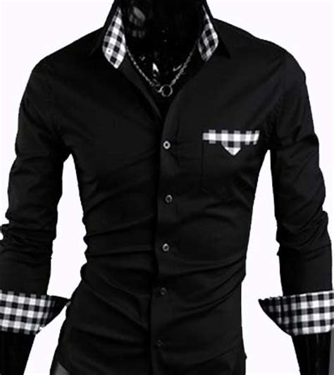 Longch Ruban Size M With Defect s casual slim fit dress shirt black size m with minor defect 04 no returns