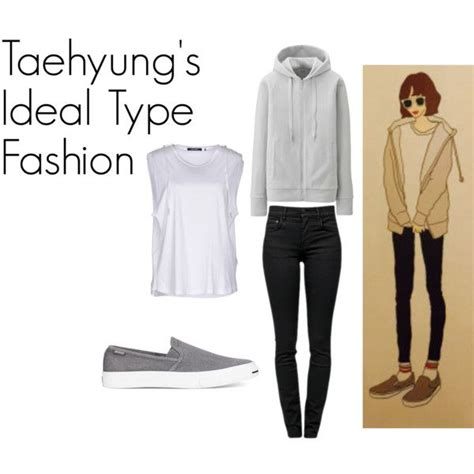 bts ideal type taehyung s ideal type outfit by kaisper on polyvore