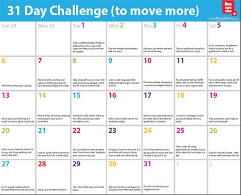 running calendar template 30 day walking challenge calendar printable search