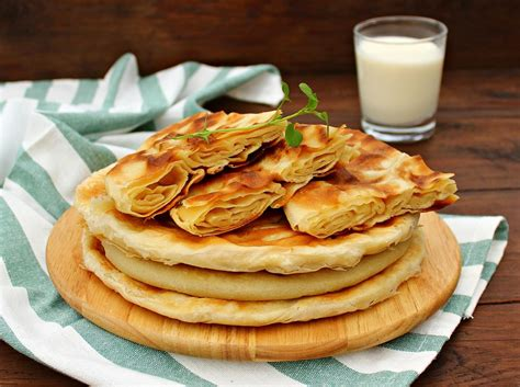 uzbek bread flat traditional uzbek bread