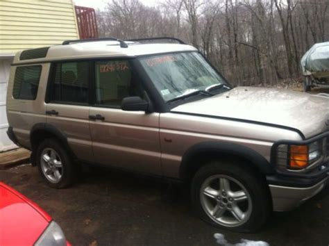 sell used 2000 land rover discovery ii solid mechanic